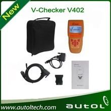 V-CHECKER VCHECKER V402 VAG Scanner with LCD Screen Diagnostic Scanner Supports KWP1281, KWP2000, CAN Bus and UDS protocols