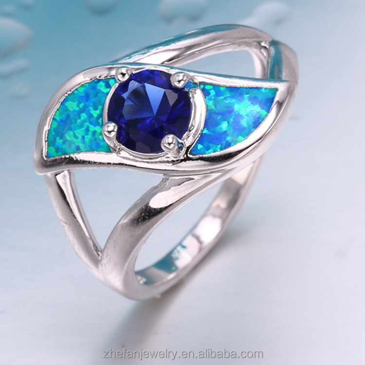 hd sexi hot girl photo solid gold scorpion poison wedding silver opal ring