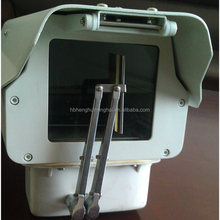 IP66 outdoor high quality cctv camera housing with wiper