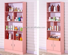 Customized office file cube wooden open shelf cabinet