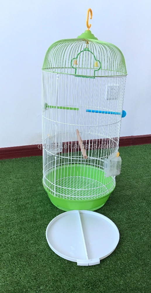 round shape weave wire mesh pet bird cage for sale