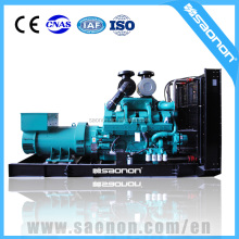 Low consumption ICEC brand 910kVA open welding diesel generator used original control panel