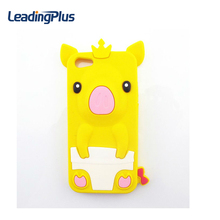 2017 Newest 3D Cute Silicon Cartoon Mobile Phone Case for iphone 7, Promotional Price Phone Cover