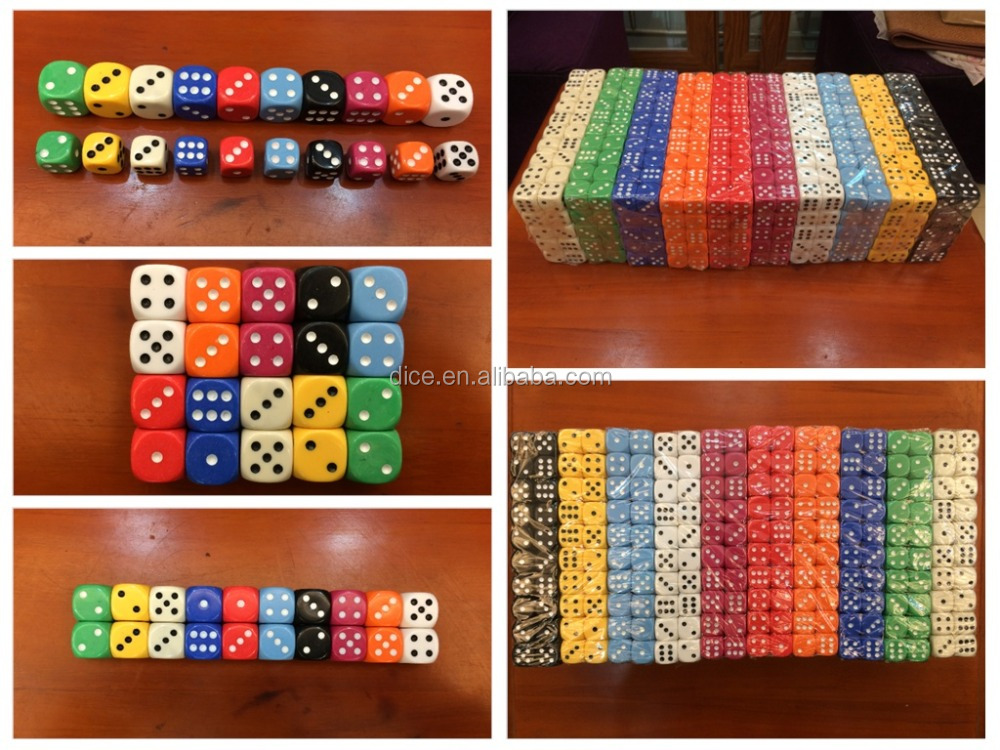 18# rounded color dice/18MM export Middle East Die/Color kids toy dice/Exquisite fashion dice