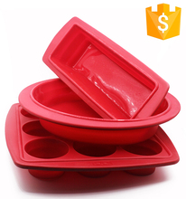 Convenient Easily-Used Kitchen Bakeware Folding Silicon Cake Mold For Hot Sale