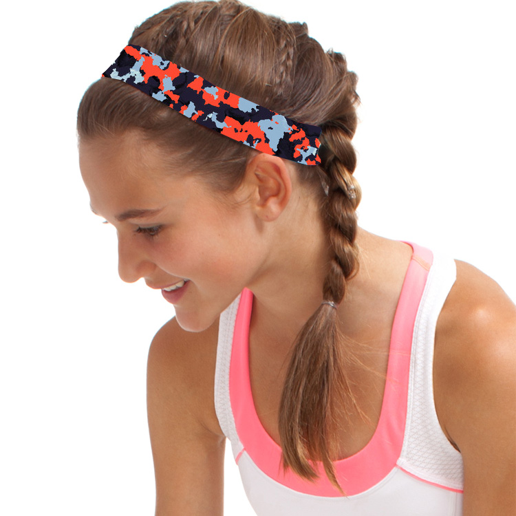 Elastic Wide Yoga Headbands for Men and Women Athletic Moisture Wicking Headwear for Sports
