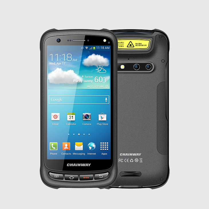 Android Barcode Scanner with Display, Chainway C70 Rugged Scanner of Barcode