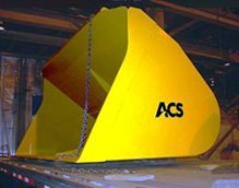 Wheel Loader Attachments - ACS Light Material Buckets