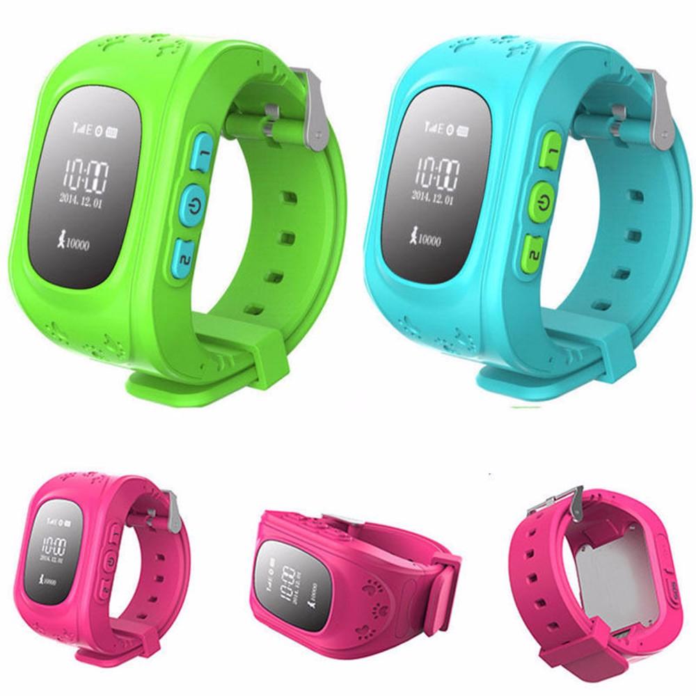 2016 Live positon tracking waterproof Q50 kids gps watch, voice calling oem brand gps watch for kids
