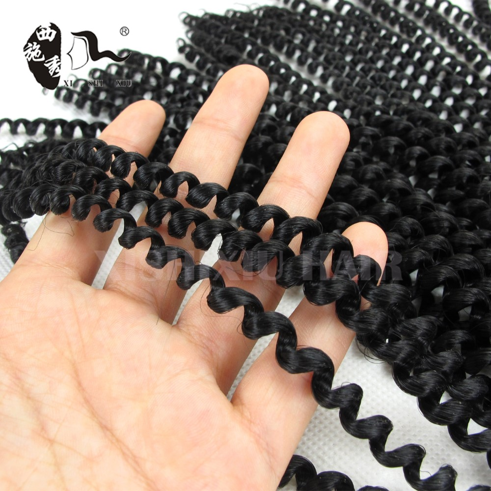 12inch 140g 2X crochet braids pictures for black woman