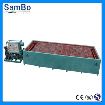 Quality 5tons daily capacity brine pool block ice machine manufacturing plant