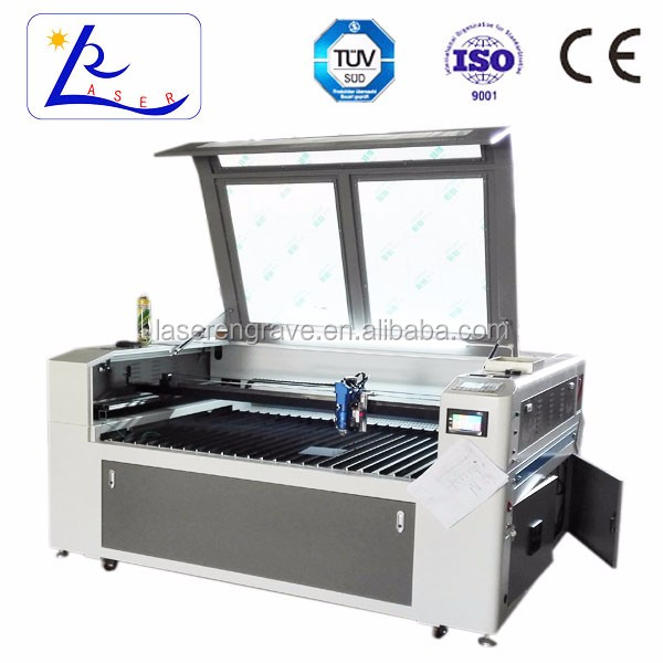 1390 co2 laser cutting thin sheet metal / metal art /stainless Stell machine