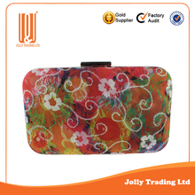 New Product best quality PU fancy mesh lady evening bag india