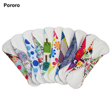 Washable woman bamboo cotton menstrual pad and super absorbent lady reusable sanitary pad