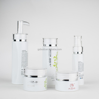 Cosmetic sets glass bottles/popular glass packaging/A large number of inventory/120ML/100ML/40ML/50G/30G