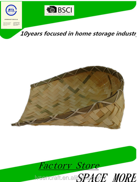 High Quality & Cheap Beautiful Vietnam <strong>Bamboo</strong> Basket For Kitchen Storage