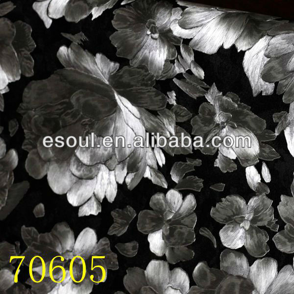 American flower pvc wallpaper with Esoul design