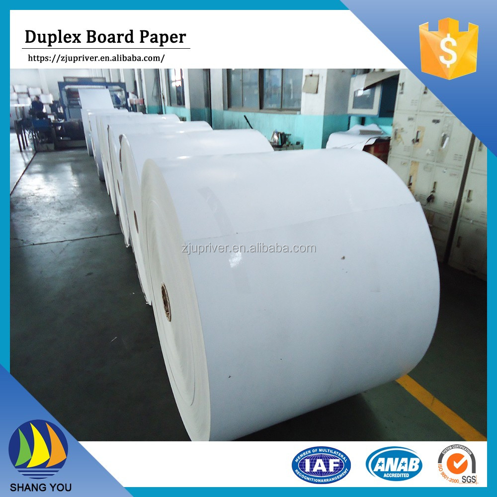 Cheap Price High Quality one side coated duplex board paper for packaging and printing