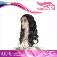2013 New style 100% Brazilian remy human hair full lace wig with the best price from factory directly