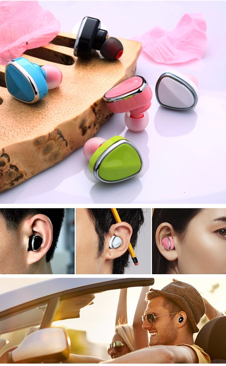 Small And Exquisite Stereo Sound Mini6 Mini Bluetooth Earphone