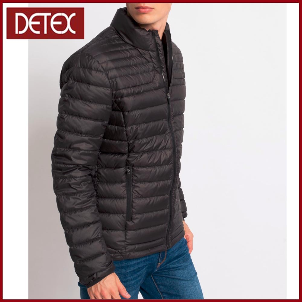 2017 Apparel Italy Black Mens Winter Thick Down Jacket