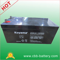 12V 250ah deep cycle battery for solar system