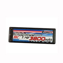 Special 7.4v 40C 3800mAh packed by 3.7v smart rechargeable li-polymer battery