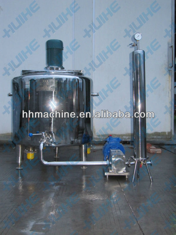 Sanitary High Shear Emulsification Tank/Equipment