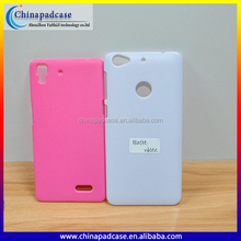 Blank UV Printing Plastic PC material shell back cover case for Micromax Canvas Juice 4 Q382