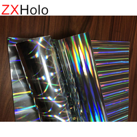 Various type 3d holographic reflection craft film
