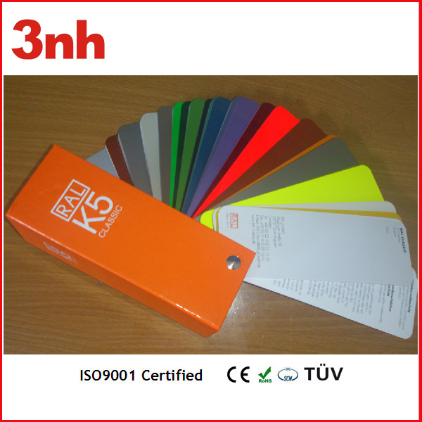 Cheap ral color card for paint