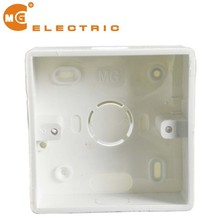 Thick stubborn pvc electrical switch boxes, back box