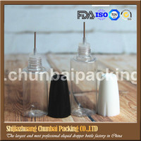 sample and design chid proof cap 30ml pet plastic bottle needle bottle
