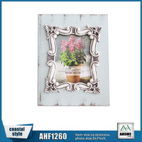 Antique Decorative MDF Resin Picture Photo Frame 13x18 Hanging and Desktop Wooden Frame