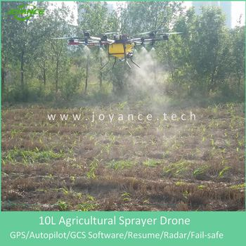 10-20L tank capacity Joyance agrosprayer drone for rice spraying