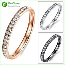 Fashion 2016 high quality crystal rings jewelry