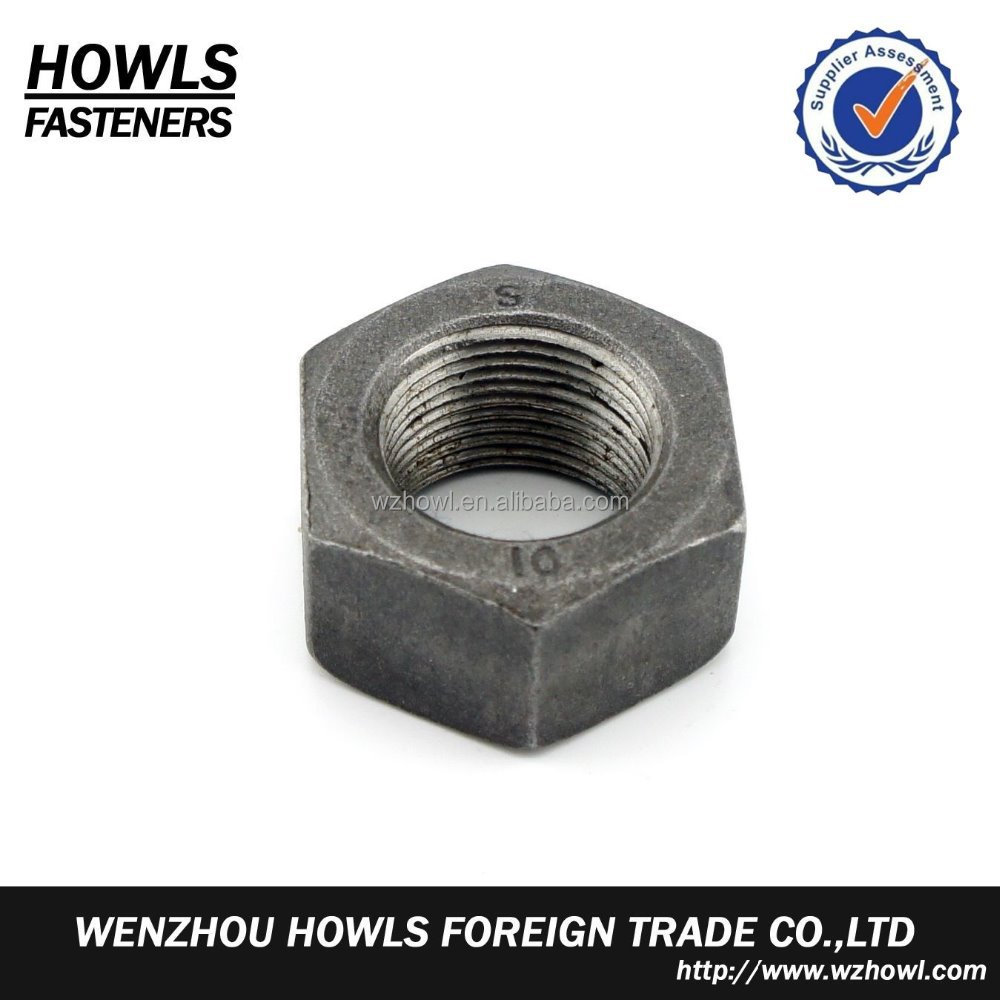 High quality carbon steel stainless steel ISO 4032 hex nut
