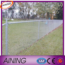 Chain link fence and post/ galvanizing chain link fence mesh/viny anti-climb chain link fence