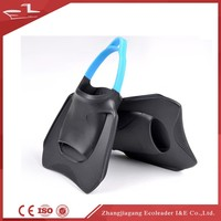 Professional high quality silicone rubber swimming training diving fins