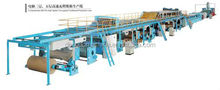 New developed and designed 3&5&7 ply corrugated cardboard production line