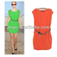 Woman dress simple design dress DS017