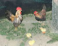 robotic animals RA 55 rooster