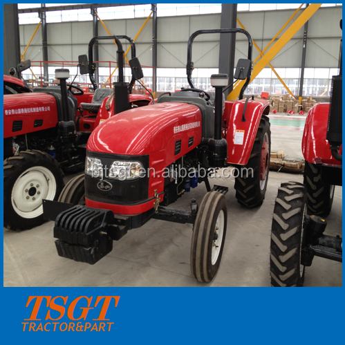 45hp 2wd farm wheel tractor with hydraulic steering system