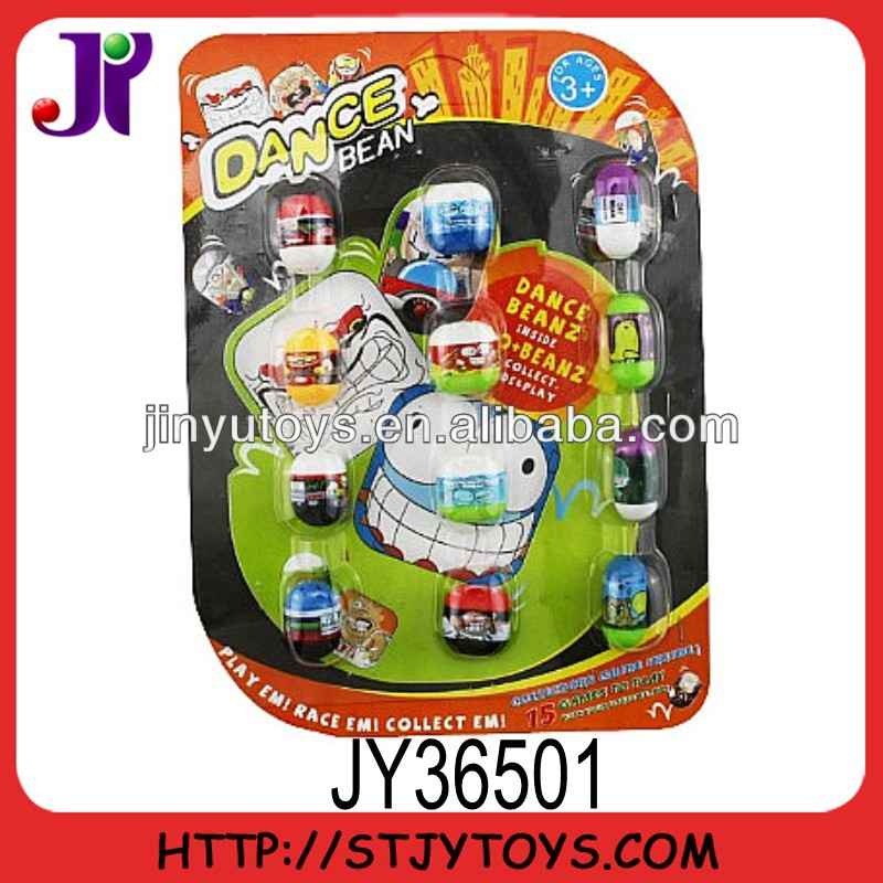 Funny plastic jumping bean toy for kids
