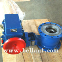 Electric operating flange ball valve manufacturer