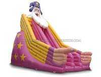 2016 Funny Inflatable Christmas toy /Inflatable Santa Claus slide /Inflatable Christmas Slide B4079