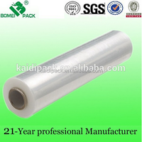 Lldpe Stretch Film/ Wrapping Film Roll/Wrapping Plastic Roll
