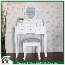 makeup vanity table wholesale antique dressing table with mirror