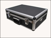 Brand New Quality Aluminium Tools / Equipment /Brief Case / Box,Large Size Black