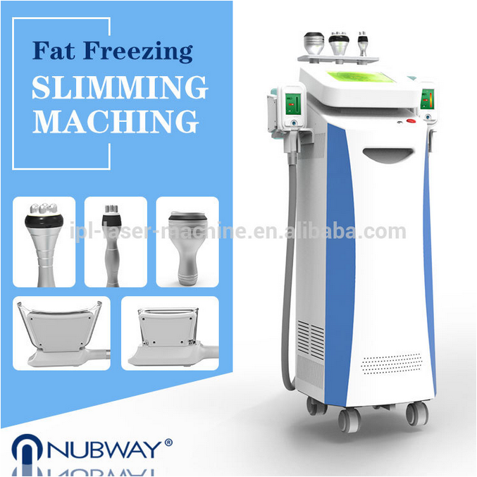 Fast effective body slimming cryolipolysis equipment 2 cryo handles fat freezing device with CE FDA certification
